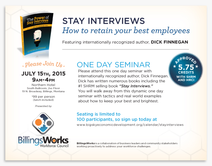 Stay Interview invite with CEC info